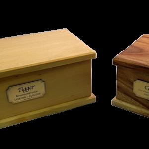 Premium 2: Individual Cremation – Solid Timber Boxes Camphor Laurel Or Pine
