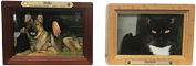 PREMIUM 8: INDIVIDUAL CREMATION – SOLID TIMBER ROSEWOOD & OAK PHOTO BOXES