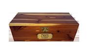 Premium 1: Individual Cremation – Eastern Solid Red Cedar Box