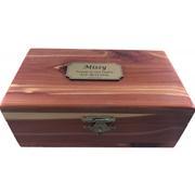 TINY PET PREM 1 EASTERN CEDAR BOX
